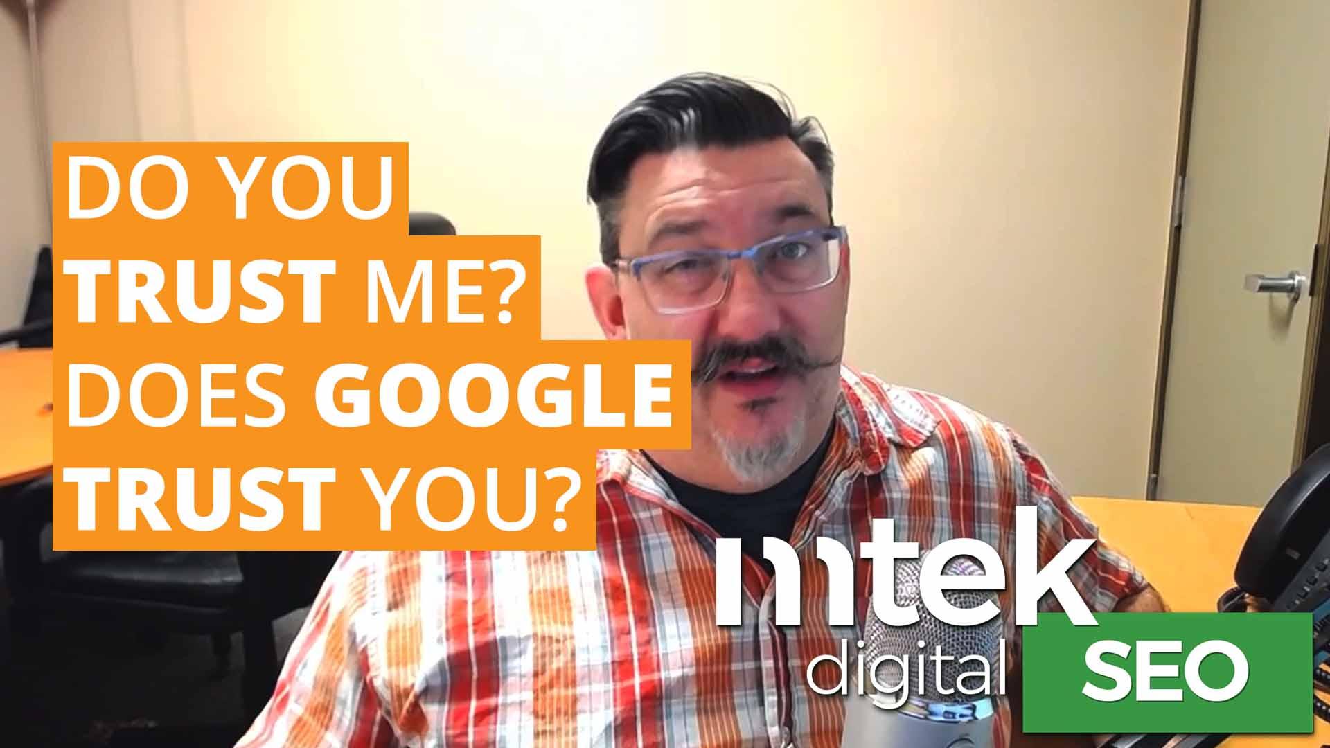 Greg Scratchley Google Trust