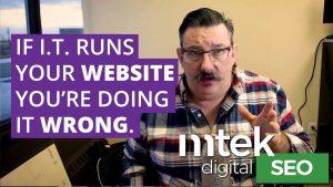 Greg Scratchley Mtek Running a Website
