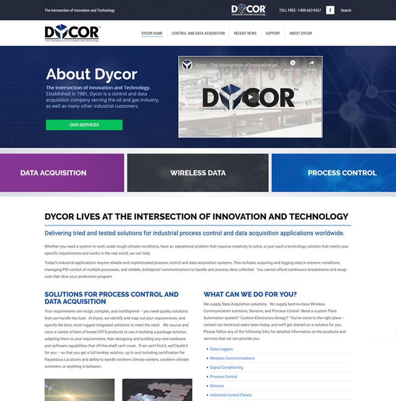 Dycor Homepage