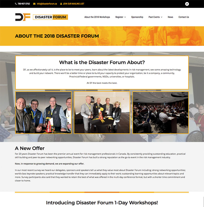 Disaster Forum Mtek Edmonton Web Design And Marketing